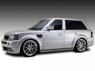 обои Arden Range Rover Sport AR6 Stronger серебро бок фото