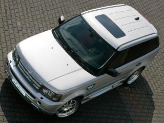 обои Arden Range Rover Sport крыша фото