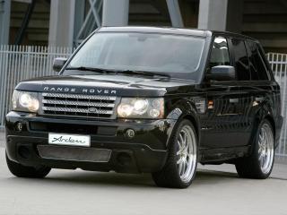 обои Arden Range Rover Sport передок черный фото