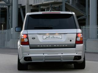 обои Arden Range Rover Sport серебристый сзади фото