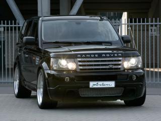 обои Arden Range Rover Sport черный сзади фото