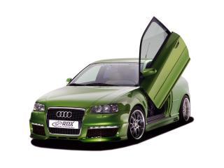 обои RDX Racedesign Audi A3 (8P) открыта дверь фото