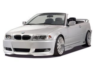 обои RDX Racedesign BMW 3 Series Cabrio (E46) белый фото