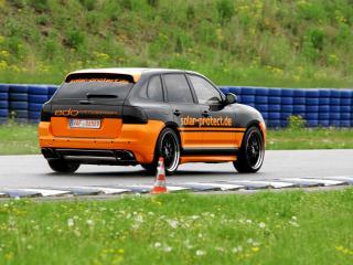 обои Edo Competition Porsche Cayenne Turbo (955) скорость фото