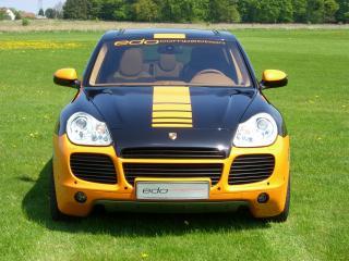 обои Edo Competition Porsche Cayenne Turbo (955) спереди фото