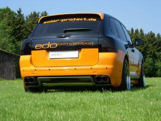 обои Edo Competition Porsche Cayenne Turbo (955) трава фото