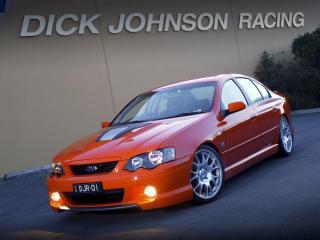 обои DJR Ford Falcon High Performance 320 (BA) боком фото