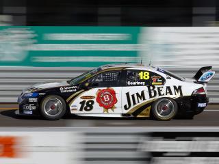 обои Jim Beam Racing DJR Ford Falcon (FG) бок фото