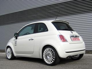 обои Lester Fiat 500 бок фото