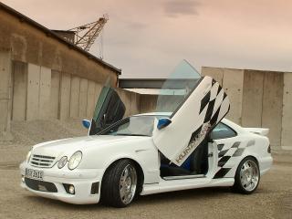 обои Kunzmann Mercedes-Benz CLK-Klasse (C208) завод фото