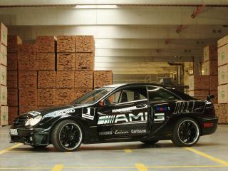 обои Kunzmann Mercedes-Benz CLK-Klasse (C209) бок фото