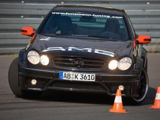 обои Kunzmann Mercedes-Benz CLK-Klasse (C209) занос фото