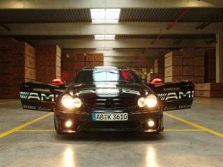 обои Kunzmann Mercedes-Benz CLK-Klasse (C209) открыты двери фото