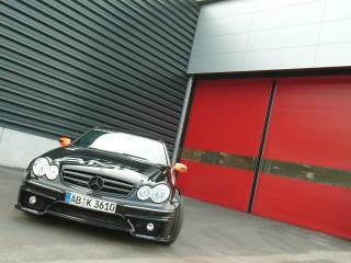 обои Kunzmann Mercedes-Benz CLK-Klasse (C209) спереди фото