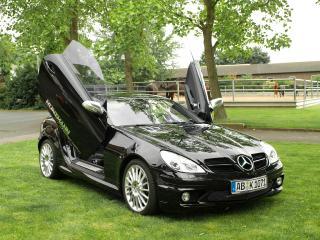 обои Kunzmann Mercedes-Benz SLK-Klasse (R171) передок фото