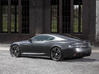 обои Edo Competition Aston Martin DBS серебристый сбоку фото