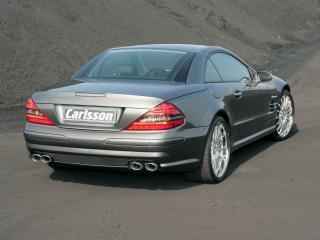 обои Carlsson Mercedes-Benz SL-Klasse (R230) зад фото