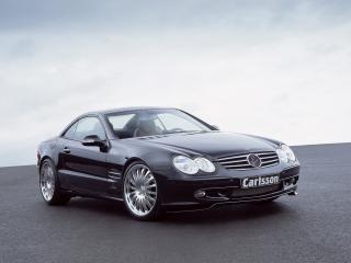 обои Carlsson Mercedes-Benz SL-Klasse (R230) передок фото
