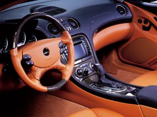 обои Carlsson Mercedes-Benz SL-Klasse (R230) руль фото