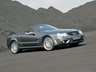 обои Carlsson Mercedes-Benz SL-Klasse (R230) сбоку фото