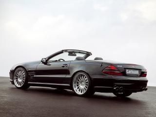обои Carlsson Mercedes-Benz SL-Klasse (R230) черный фото