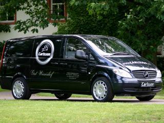 обои Carlsson Mercedes-Benz Vito (W639) бок фото