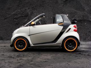 обои Carlsson Smart ForTwo Cabrio C25 бок фото