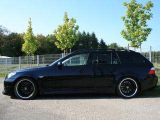 обои JMS BMW 5 Series Touring (E61) бок фото