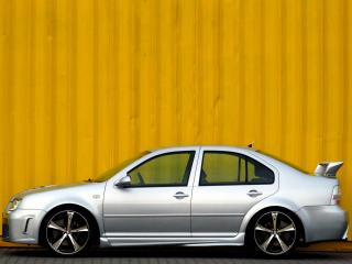 обои JMS Volkswagen Bora бок фото