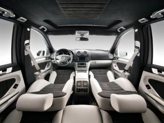 обои Vilner Studio Mercedes-Benz M-Klasse (W164)  салон фото