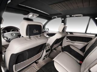 обои Vilner Studio Mercedes-Benz M-Klasse (W164) подголовники фото