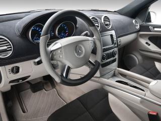 обои Vilner Studio Mercedes-Benz M-Klasse (W164) руль фото