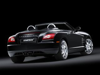 обои Startech Chrysler Crossfire Roadster сзади фото