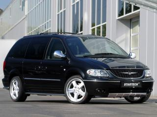обои Startech Chrysler Grand Voyager боком фото