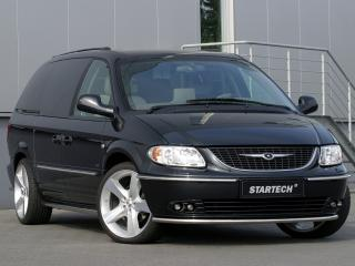 обои Startech Chrysler Grand Voyager черный фото