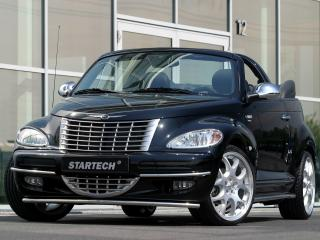 обои Startech Chrysler PT Cruiser Convertible передок фото