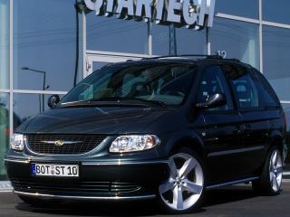 обои Startech Chrysler Voyager передок фото