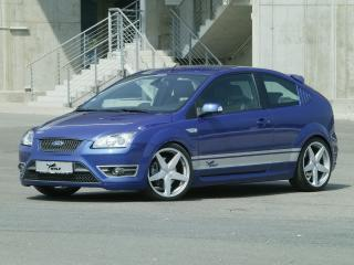 обои Wolf Racing Ford Focus ST (II) синий фото