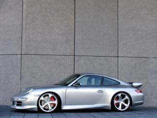 обои TechArt Porsche 911 Carrera Coupe (997) стена фото