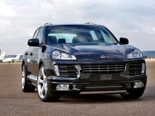 обои TechArt Porsche Cayenne (957) передок фото