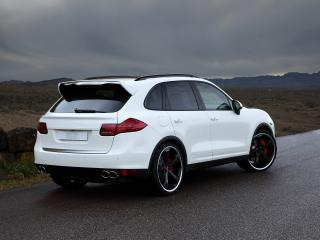 обои TechArt Porsche Cayenne (958) бок фото