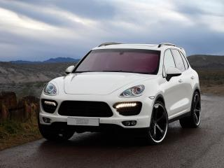 обои TechArt Porsche Cayenne (958) передок фото