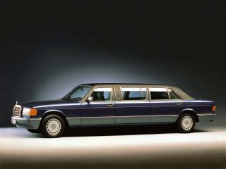 обои Trasco Mercedes-Benz S-Klasse (W126)  бок фото