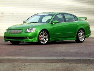 обои Stillen Nissan Altima боком фото