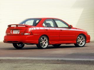 обои Stillen Nissan Sentra SE-R Spec V (B15) боком фото