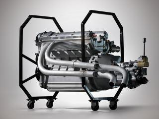 обои Tojeiro Jaguar Sports Racer мотор фото