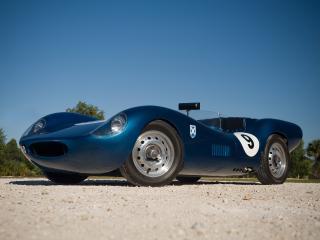 обои Tojeiro Jaguar Sports Racer низ фото