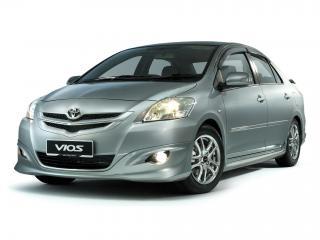 обои TRD Toyota Vios Sportivo (XP90) передок фото