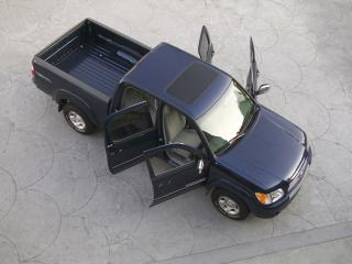 обои TRD Toyota Tundra Double Cab SR5 Off-Road Edition открыты двери фото