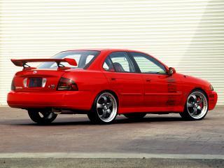 обои Street Concepts Nissan Sentra SE-R (B15) бок фото